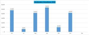 Dividenden-Einnahmen 2020